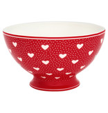 "GreenGate Suppenschale ""Soup bowl Penny red"""