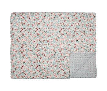 """GreenGate Quilt """"Merla white"""" 140x220cm"""