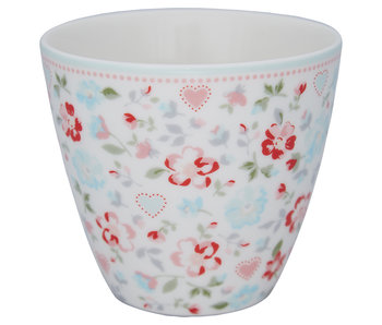 "GreenGate Latte Cup ""Merla white"""