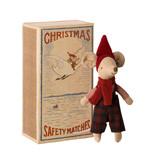"""Maileg """"Weihnachtsmaus"""" im Buch, großer Bruder"""