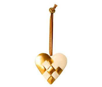 Maileg Herz Anhänger, gold