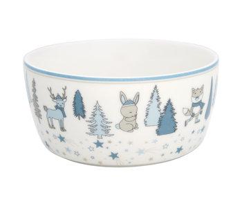 "GreenGate Kinderschüssel ""Kids bowl Forrest"" pale blue"