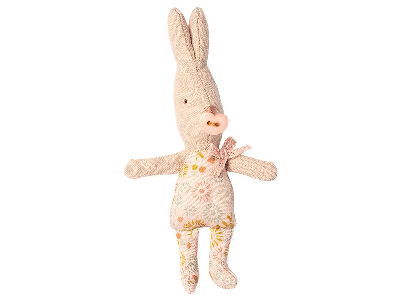 """Maileg Rabbit """"Girl"""" mit Schnuller, my"""