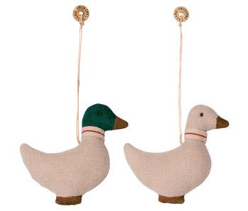 Maileg Duck Anhänger (2 Stk.) aus Baumwolle