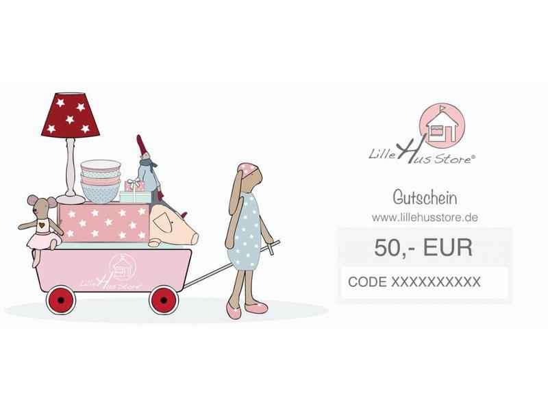LilleHus Store 50 EUR Gutschein