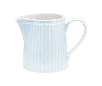 """GreenGate Milchkännchen """"Creamer Alice"""" pale blue"""