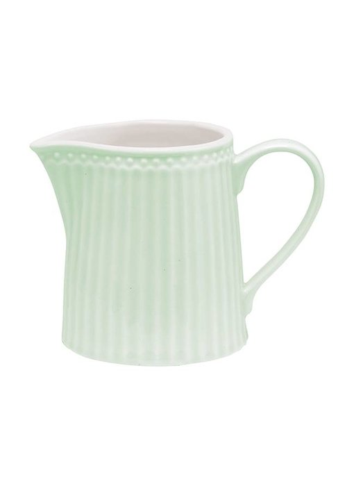 "GreenGate Milchkännchen ""Creamer Alice"" pale green"