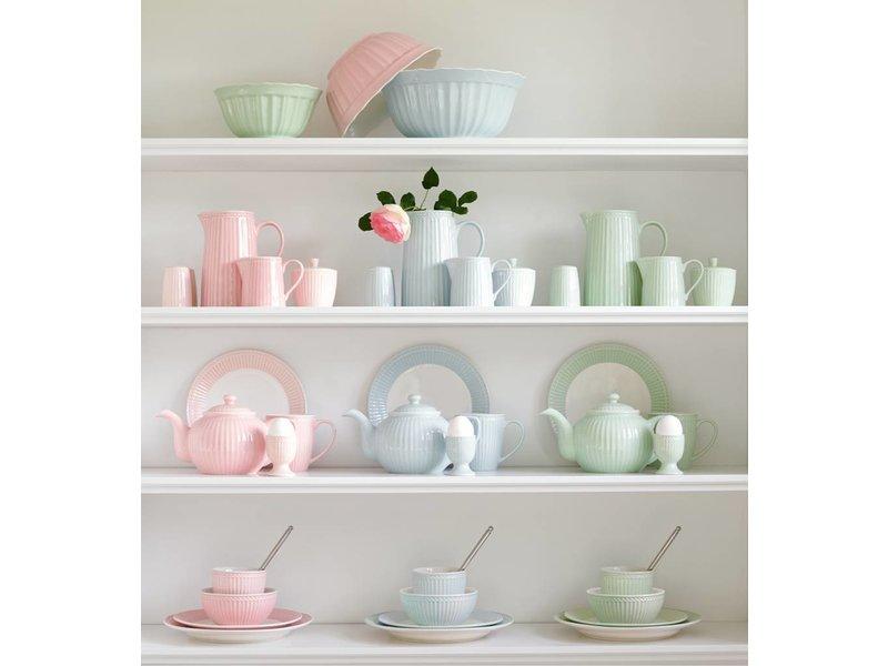 """GreenGate Teekanne """"Teapot Alice"""" pale green"""