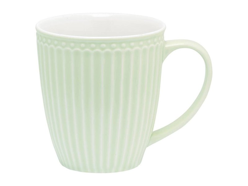 "GreenGate Becher ""Mug Alice"" pale green"