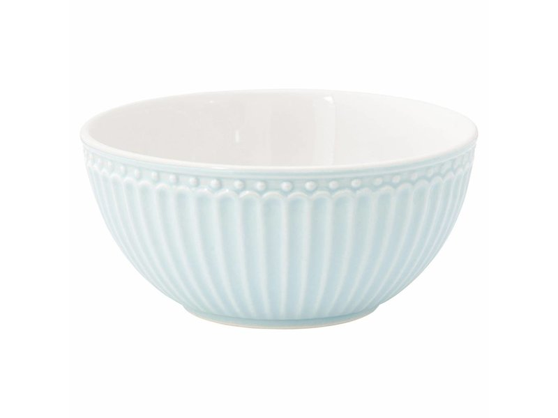 "GreenGate Schüssel ""Cereal bowl Alice pale blue"""