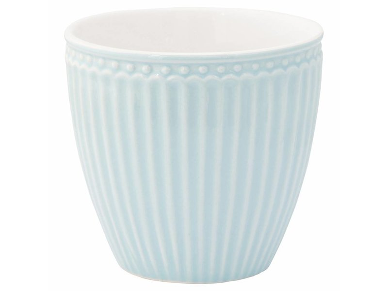 "GreenGate Becher ""Latte cup Alice"" pale blue"