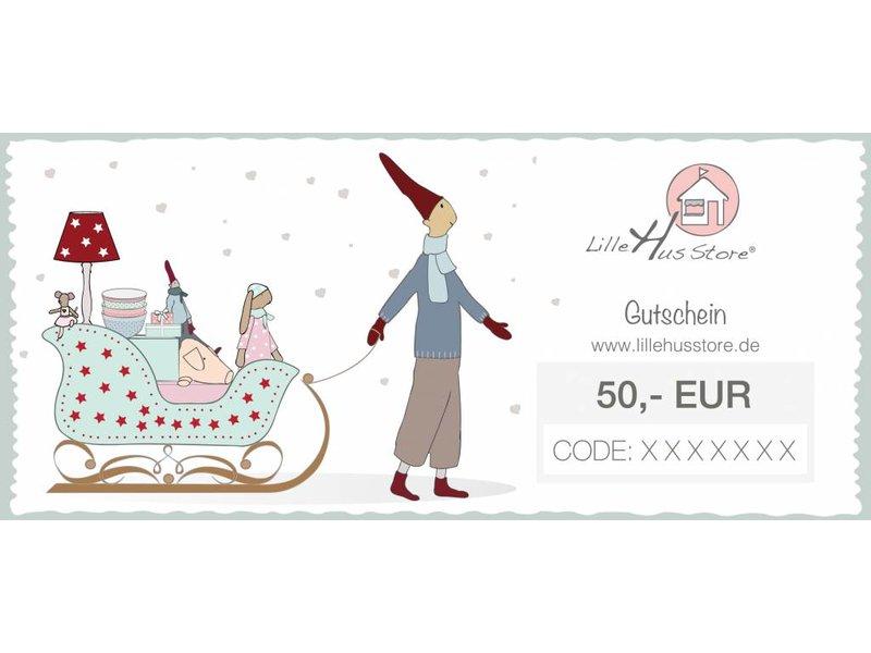 LilleHus Store 50 EUR Gutschein Winter