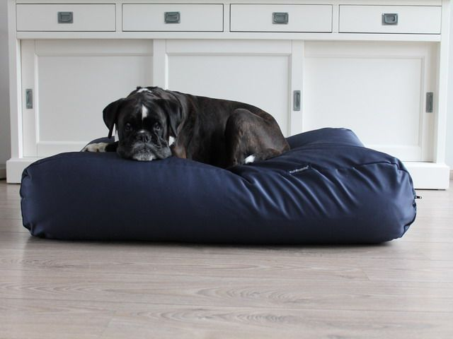 Dog's Companion® Hondenbed donkerblauw vuilafstotende coating extra small