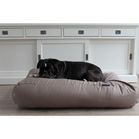 Dog's Companion® Hondenkussen taupe katoen extra small