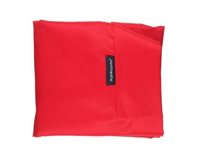 Dog's Companion® Hoes hondenbed rood vuilafstotende coating medium