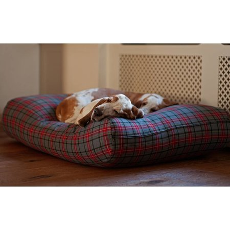 Dog's Companion® Hondenbed scottish grey medium