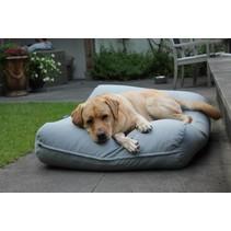 Hondenkussen lichtgrijs superlarge