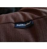 Dog's Companion® Hondenbed chocolade bruin (meubelstof) Small