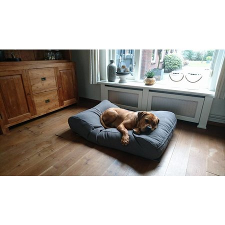 Dog's Companion® Hondenbed taupe (meubelstof) medium