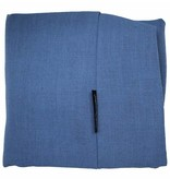 Dog's Companion® Hondenbed manhattan blue linnen Small