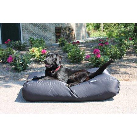 Dog's Companion® Hondenbed zwart vuilafstotende coating medium