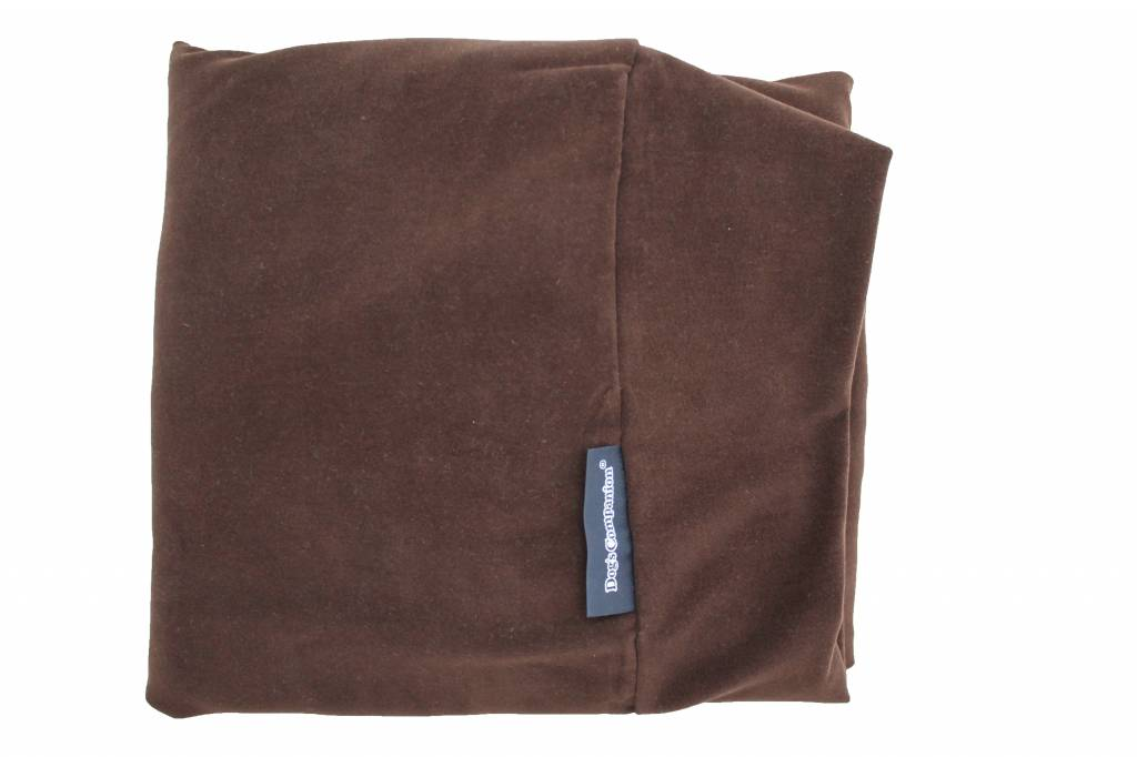 Dog's Companion® Hoes hondenbed Chocolate brown velours