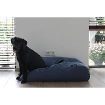 Hondenbed rafblauw (meubelstof) extra small