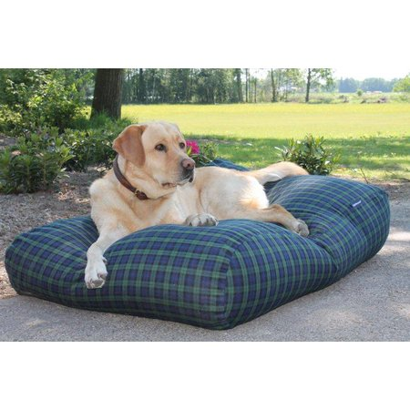 Dog's Companion® Hondenbed black watch large