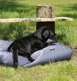Dog's Companion® Hondenkussen staalgrijs vuilafstotende coating large