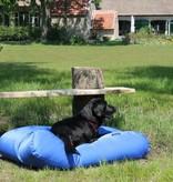Dog's Companion® Hondenkussen kobalt blauw vuilafstotende coating extra small