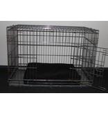 Dog's Companion® Zwart benchkussen 65 x 50 x 10 cm