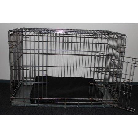Dog's Companion® Benchkussen 65x50x10 cm Zwart