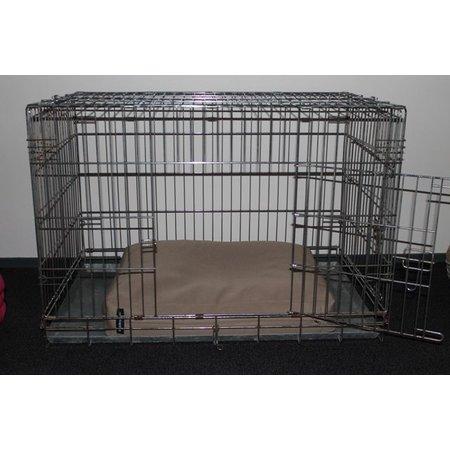 Dog's Companion® Beige benchkussen 65 x 50 x 10 cm
