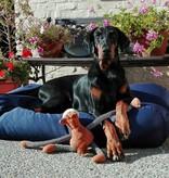 Dog's Companion® Hondenbed donkerblauw vuilafstotende coating medium