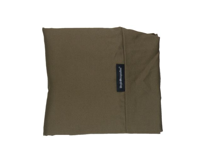 Dog's Companion® Hoes hondenbed taupe/bruin small