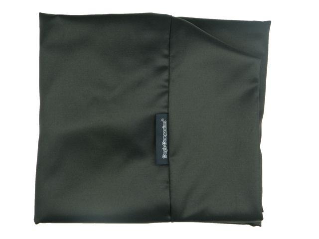 Dog's Companion® Hoes hondenbed zwart vuilafstotende coating medium