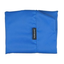 Hoes hondenbed kobalt blauw vuilafstotende coating medium