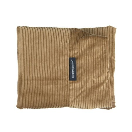 Dog's Companion® Hoes hondenbed camel ribcord large