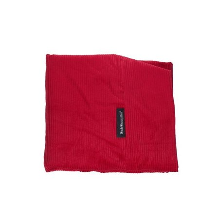 Dog's Companion® Hondenbed rood ribcord superlarge