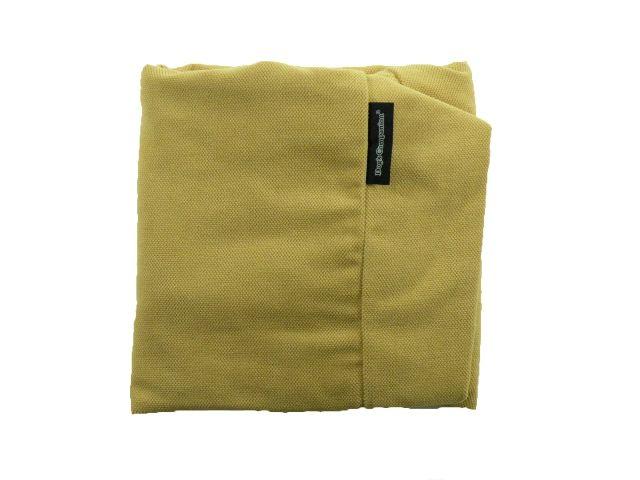 Dog's Companion® Hoes hondenkussen maïsgeel meubelstof extra small