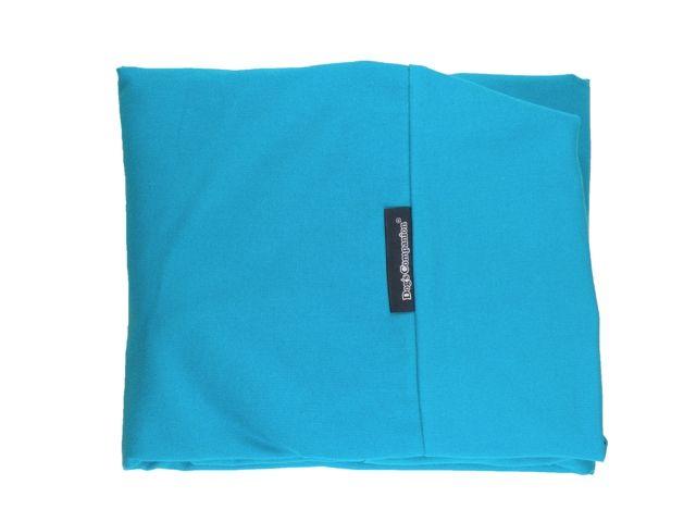 Dog's Companion® Hoes hondenbed aqua blauw superlarge