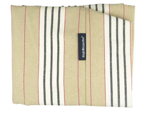 Dog's Companion® Hoes hondenbed country field streep small