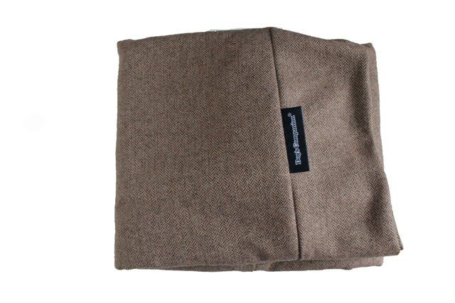 Dog's Companion® Hoes hondenbed extra small tweed lichtbruin