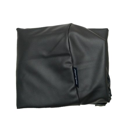 Dog's Companion® Hoes hondenbed zwart leather look extra small
