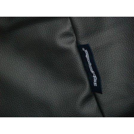 Dog's Companion® Hoes hondenbed zwart leather look medium