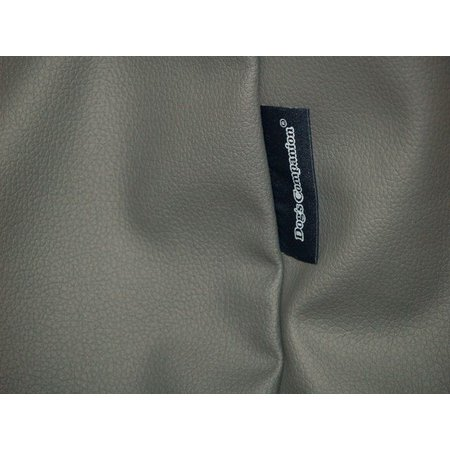 Dog's Companion® Hoes hondenbed muisgrijs leather look superlarge
