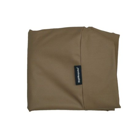 Dog's Companion® Hoes hondenbed taupe leather look medium