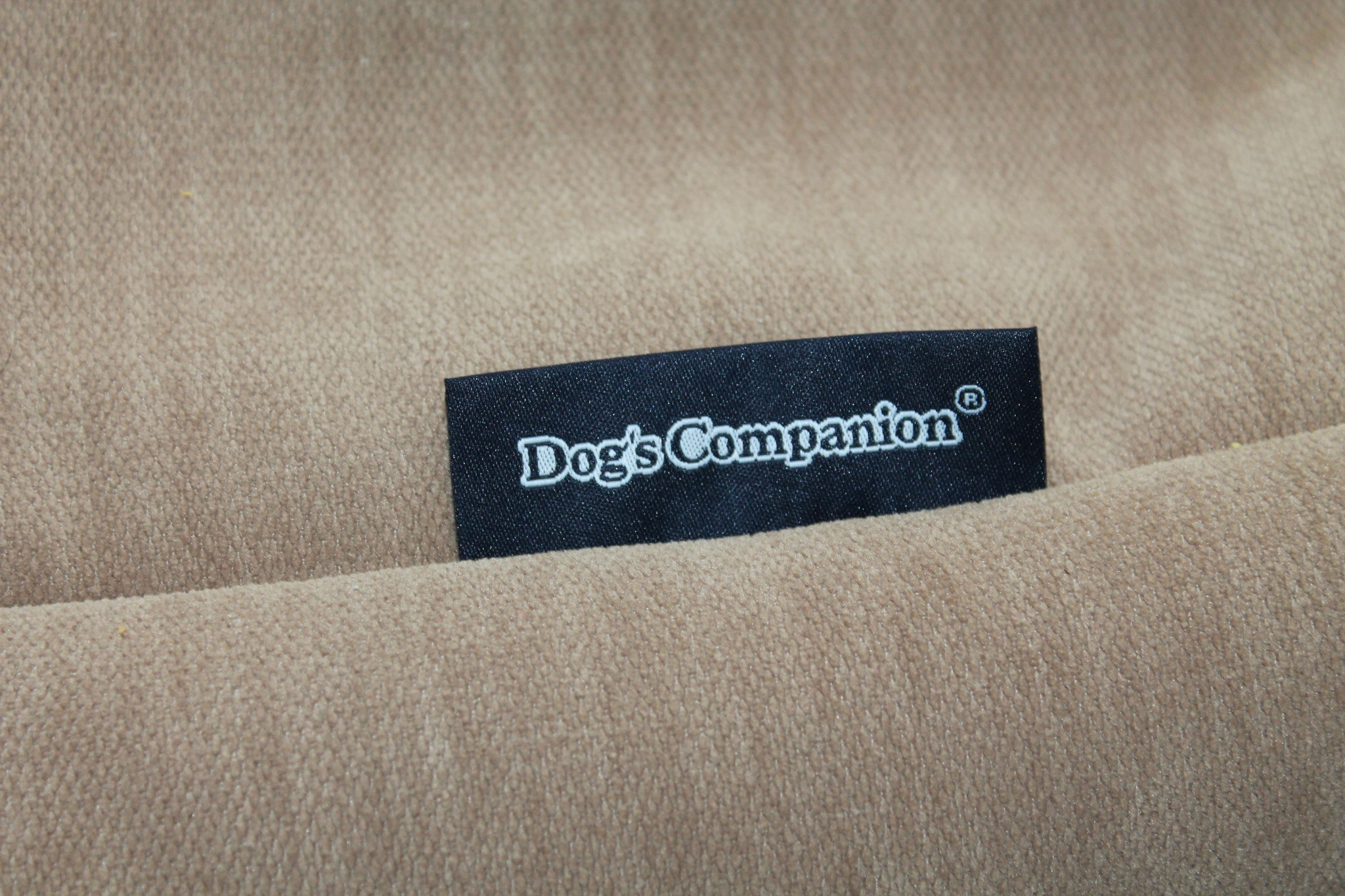 Dog's Companion® Hoes hondenbed Caramel (chenille velours) Extra Small