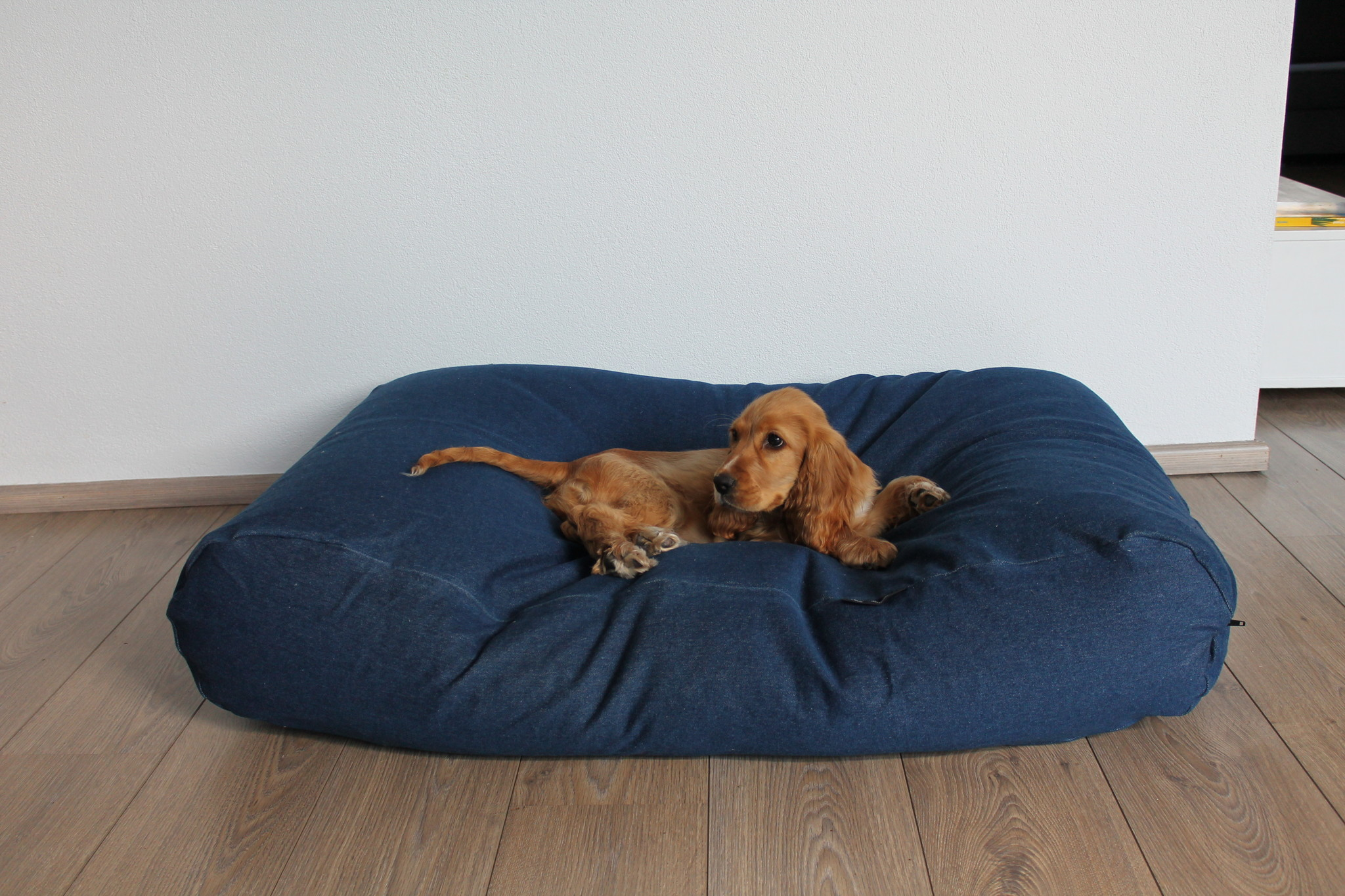 Dog's Companion® Hondenbed jeans medium