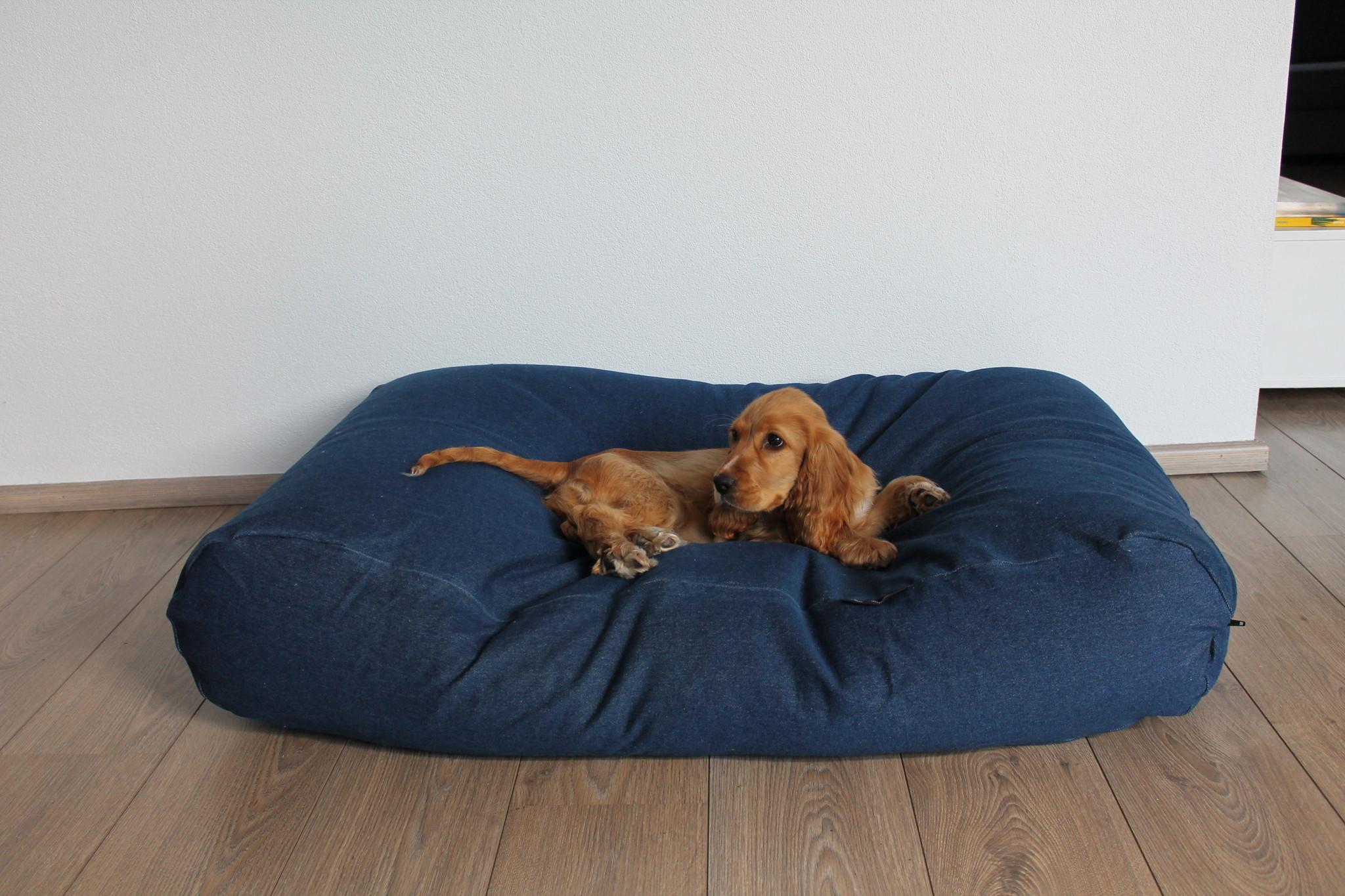 Dogs Companion® Hondenbed jeans superlarge